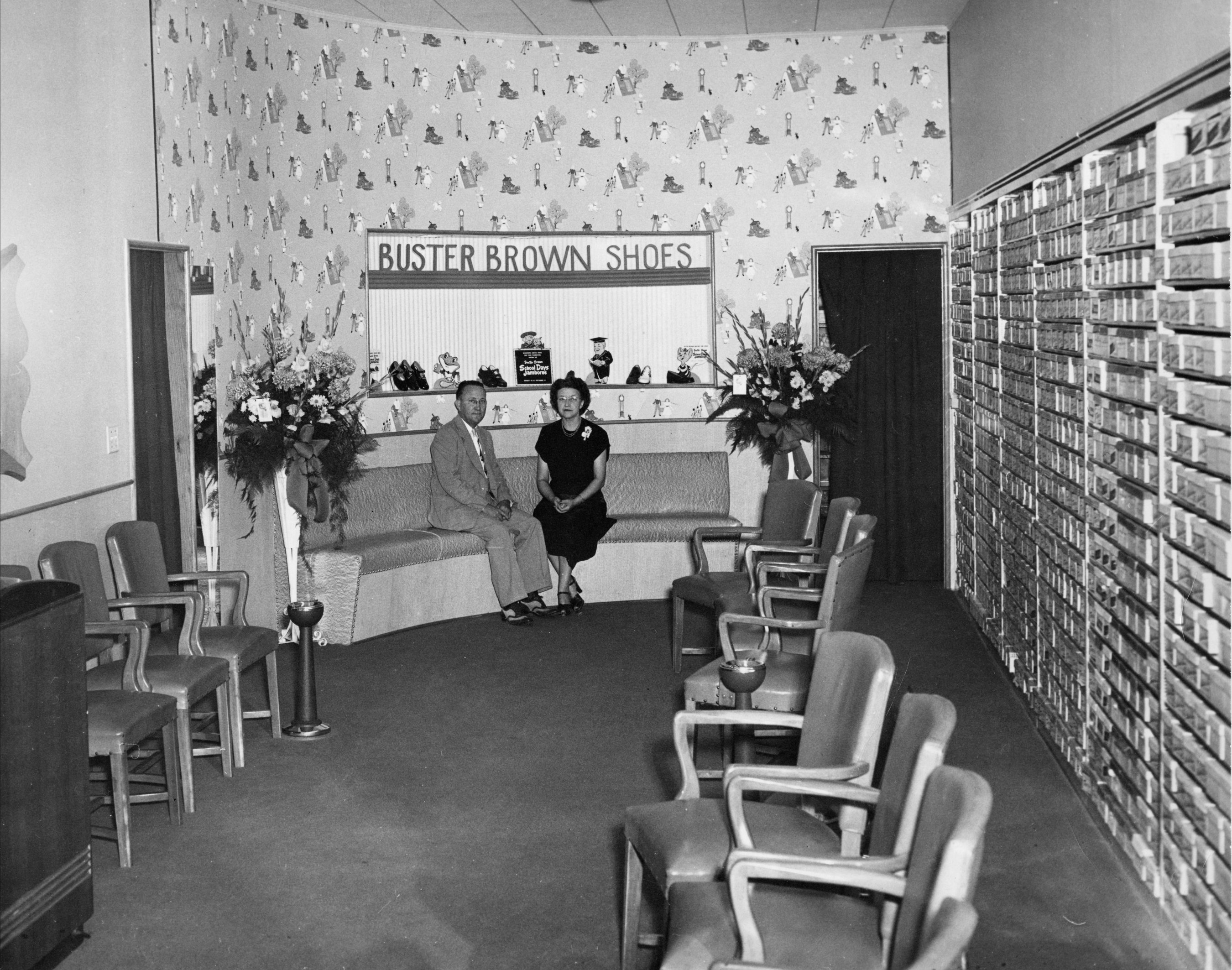 Buster Brown Shoe Store